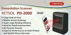 Retsol barcode pd 2000 scanner