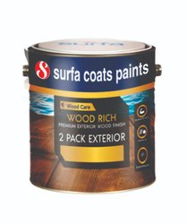 Wood Rich 2 Pack PU Exterior Wood Finish