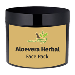 Atulayam Wellness Aloe Vera Herbal Face Pack, Cream, Packaging Size: 100 Gm