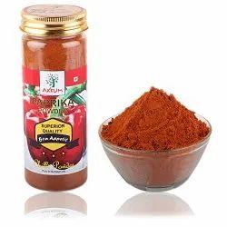Axium Paprika Powder - 125 Gram, Packaging Type: Plastic Jar