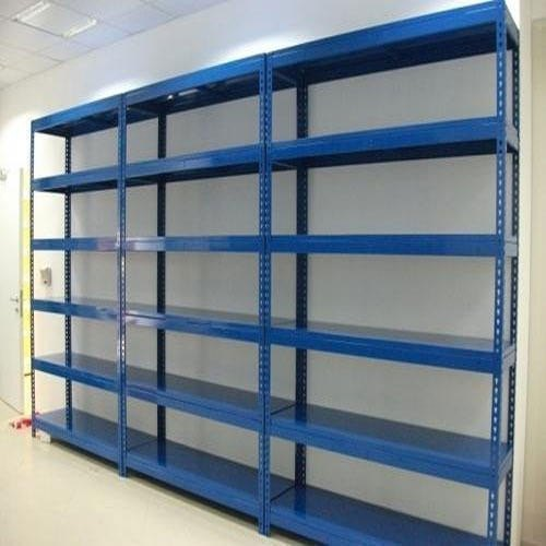 Blue steel Slotted Angle Racks, 5