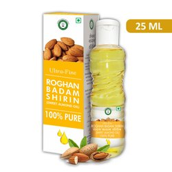 Ultra Fine Roghan Badam Shirin 25 ml (Sweet Almond Oil)