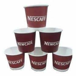 Printed Paper Coffee Cup, For Party Supplies, Capacity: 45 Ml