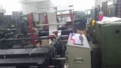 Automatic Paper Bag Tube Forming Machine With 4 Color Flexo Printing
