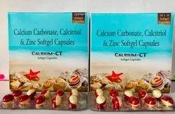 Calcitriol,Calcium Carbonate, Zinc Sulphate Softgel Capsules