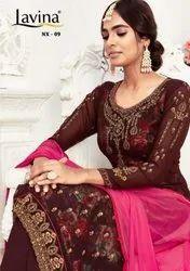 Lavina Nx Vol-9 Plazzo Style Suits Catalog