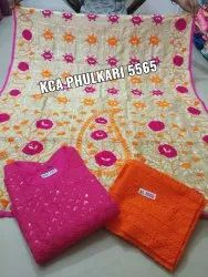 KCA Cotton Phulkari Suites