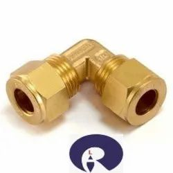 Brass Olive Male Elbow