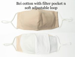 Bci Cotton With Filter Pockets With Soft Adjustable Loop