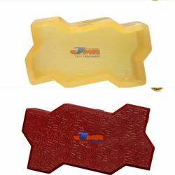 Zig Zag PVC Rubber Paver Mould