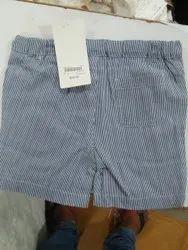 Blue Boy Kids Cotton Shorts