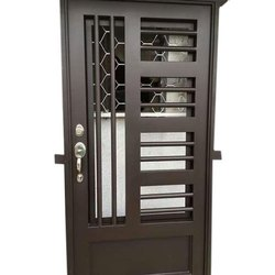 Metal Ivory Safety Door, For Home