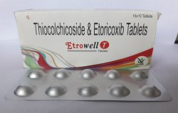 Thiocolchicoside 4 Mg & Etoricoxib 60 Mg Tabs
