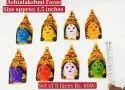 Ashtalakshmi Face Golu  Doll