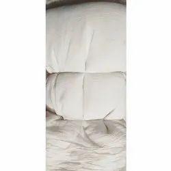 White Plain Chiffon Fabric, For Garments