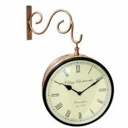 Beautiful Wall Hanging Station Clock