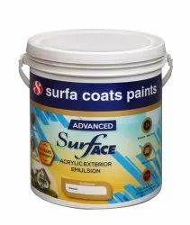 Advanced Surface Acrylic Exterior Emulsion Paint, Packaging Size: 20 Litre