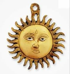 Brass Wall Hanging Sun
