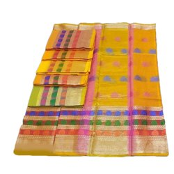 Casual Wear Fancy Scot Cotton Printed Saree