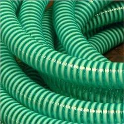 Green PVC suction Hose Pipe