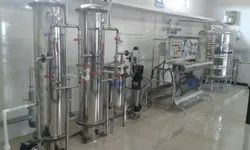 Offline Industrial Turnkey Mineral Water Project