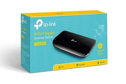 black LAN Capable TP Link SG1008D 8 Port Switch