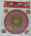 10 Inch Regular Paper Rangoli Sticker