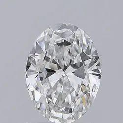Oval Cut 1.00ct IGI Certified Diamond CVD D SI1 Lab Grown Type2A
