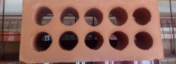 Terracotta Rectangular Clay brick, Size: 8.5 By 4