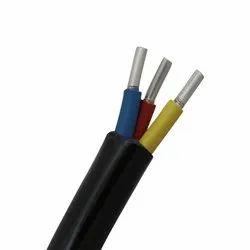 Aluminium(Conductor)) 3 Core Aluminium Round Cable
