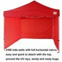 Side Covered Canopy 6X6 ft Heavy Quality