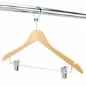Anti Theft Wooden Clip Hanger