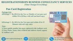 PAN card registration