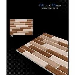 Ceramic Rectangular Glossy Elevation Digital Wall Tile, Size: 250x375 mm, Thickness: 0-5 mm
