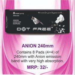 Dotfree 240mm Anion Ultra 8 Pads