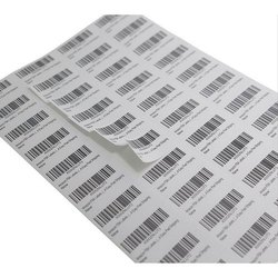 Paper A4 Size Printed Self Adhesive Labels, For Garments, Packaging Type: Sheet