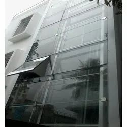 Stainless Steel Lift Facade In Patch Fitting