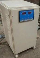 Single Phase Air Cooled Servo Stabilizer