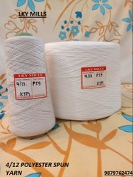 Polyester Yarn 4/12 Psy Wt 12/4