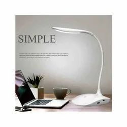Warm White Plastic Rechargeable LED Table Lamp, 5 W, Voltage: 220 V