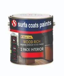 Wood Rich 2 Pack PU Interior Wood Finish