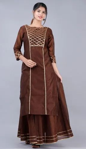 Party Wear Kurti Set
