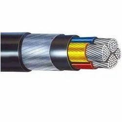 Aluminium Armoured Cable, 4 Core