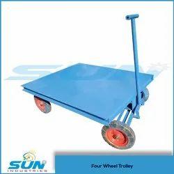 Heavy Material Handling Trolley