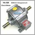 14.125 Type Emco Simplatroll Clutch Brake Combination
