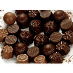 Choco Town Brown Hand Made Dark Chocolates
