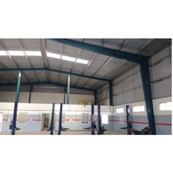 Prefab Steel Industrial Shed, For Industries