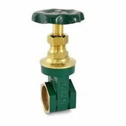 1006 Hex Type Screwed Bronze Gate Valve