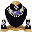 Finekraft Wedding Cz Necklace Jewelry, Occasion: Party