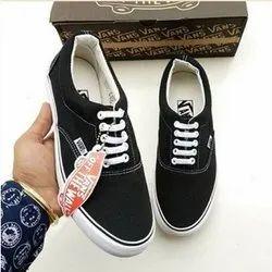 Vans Black Casual Shoes, Size: 7-10